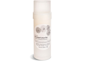 Display unscented lotion bar extreme moisture formula 3.25 oz