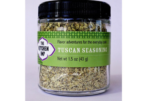 Display tuscan seasoning