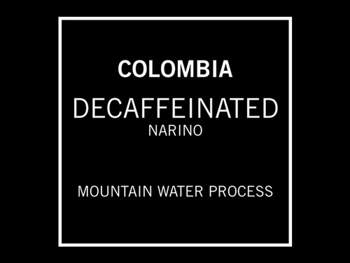Temple Coffee Decaffeinated Colombia Narino