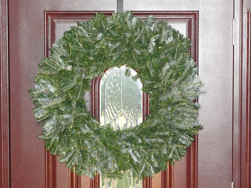 Natural Undecorated Wreath