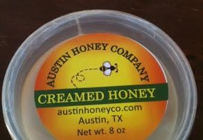 Display 8 oz creamed honey