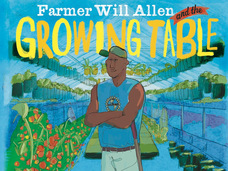 Small farmer will allen and the growing table  paperback