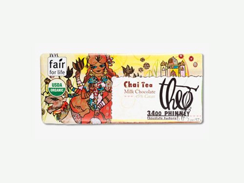 Chai Tea 45% Milk Chocolate Fantasy Bar