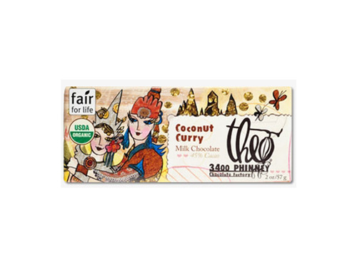 Coconut Curry 45% Milk Milk Chocolate Fantasy Bar