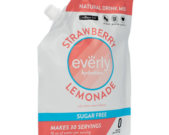 Market card starwberry lemonade hydration