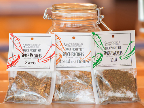 TRIO Spice Packets (One 3-pack each of Bread & Butter, Dill and Sweet)