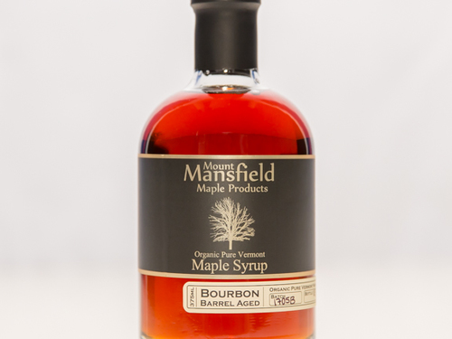 375ml Organic Bourbon Barrel Aged Vermont Maple Syrup