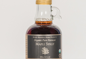 Display organic 250ml maple syrup
