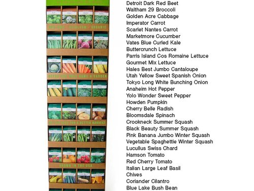 Wholesale Heirloom Garden Seed Packets