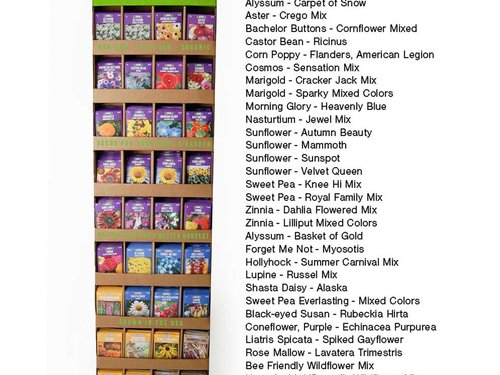 Wholesale Flower Garden Seed Packets