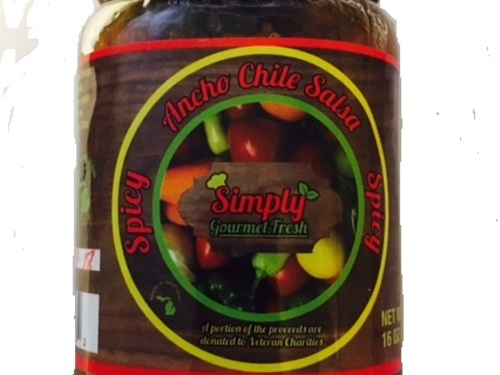 Ancho Chili Salsa Spicy