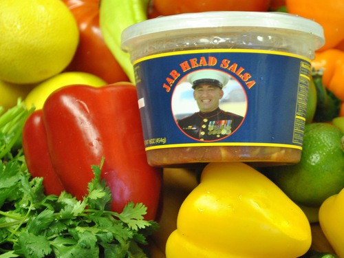 Jar Head Salsa Snack Kit