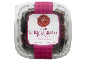 Display dried cherry berry blend
