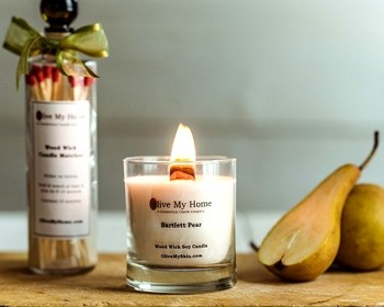 Market card candle   lotion