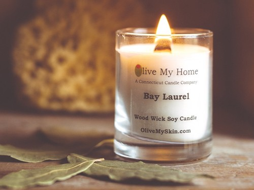 Wood Wick Soy Candle, 3 oz - Elf's Breath