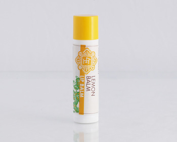 Market card lemon lip balm