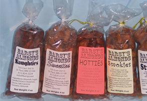 Display barsy s almonds   smokies