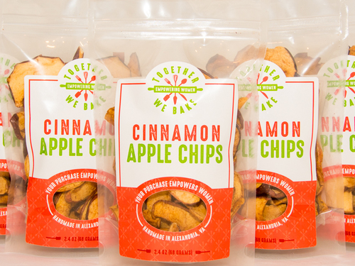 Cinnamon Apple Chips - Snack Pack