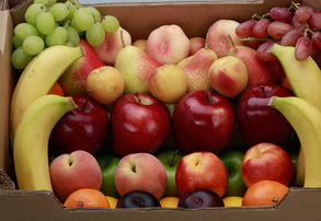 Display fresh fruit box