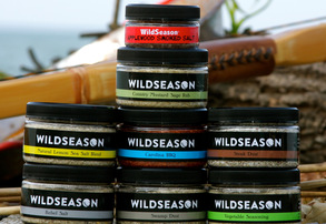 Display country mustard sage rub