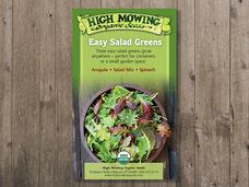Small easy salad greens gift box
