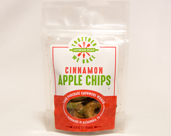 Market card small apple chips