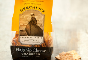 Display beecher s flagship cheese crackers