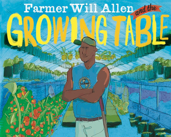 Market card farmer will allen and the growing table  hardcover
