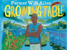 Small farmer will allen and the growing table  hardcover