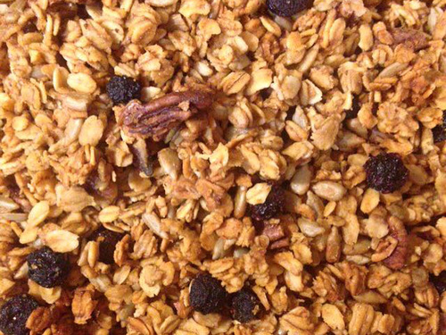 Lime Blueberry Cayenne Granola