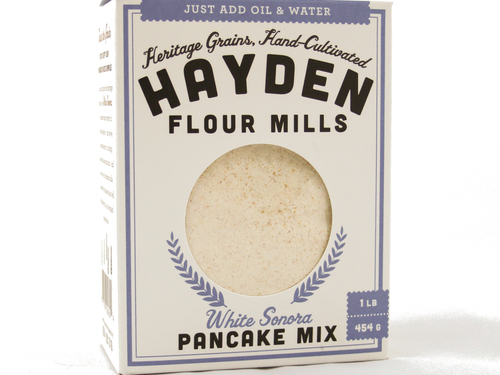 Heritage Pancake Mix- White Sonora Wheat